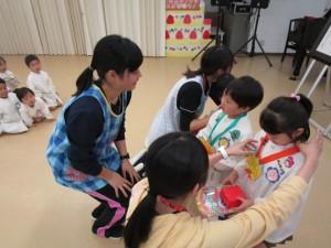 新入園児歓迎会・4月誕生会