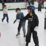 スケート遊び2回目(年長児)
